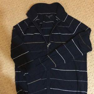 Banana republic men's front zipper sweater/shirt